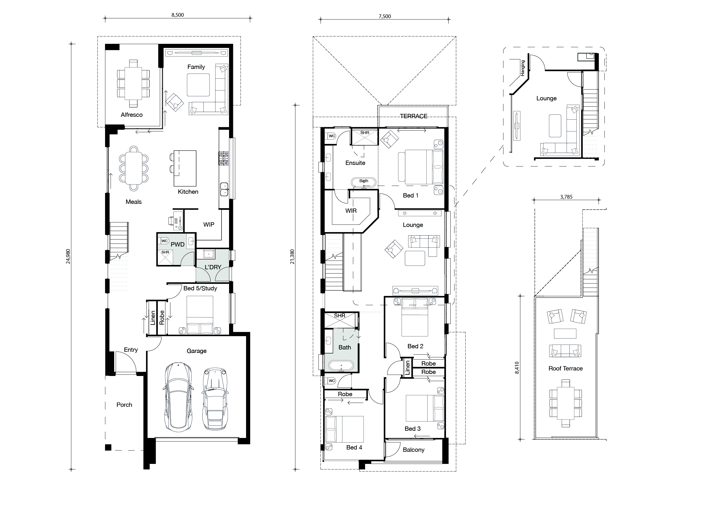 Floor plan for Cityview home