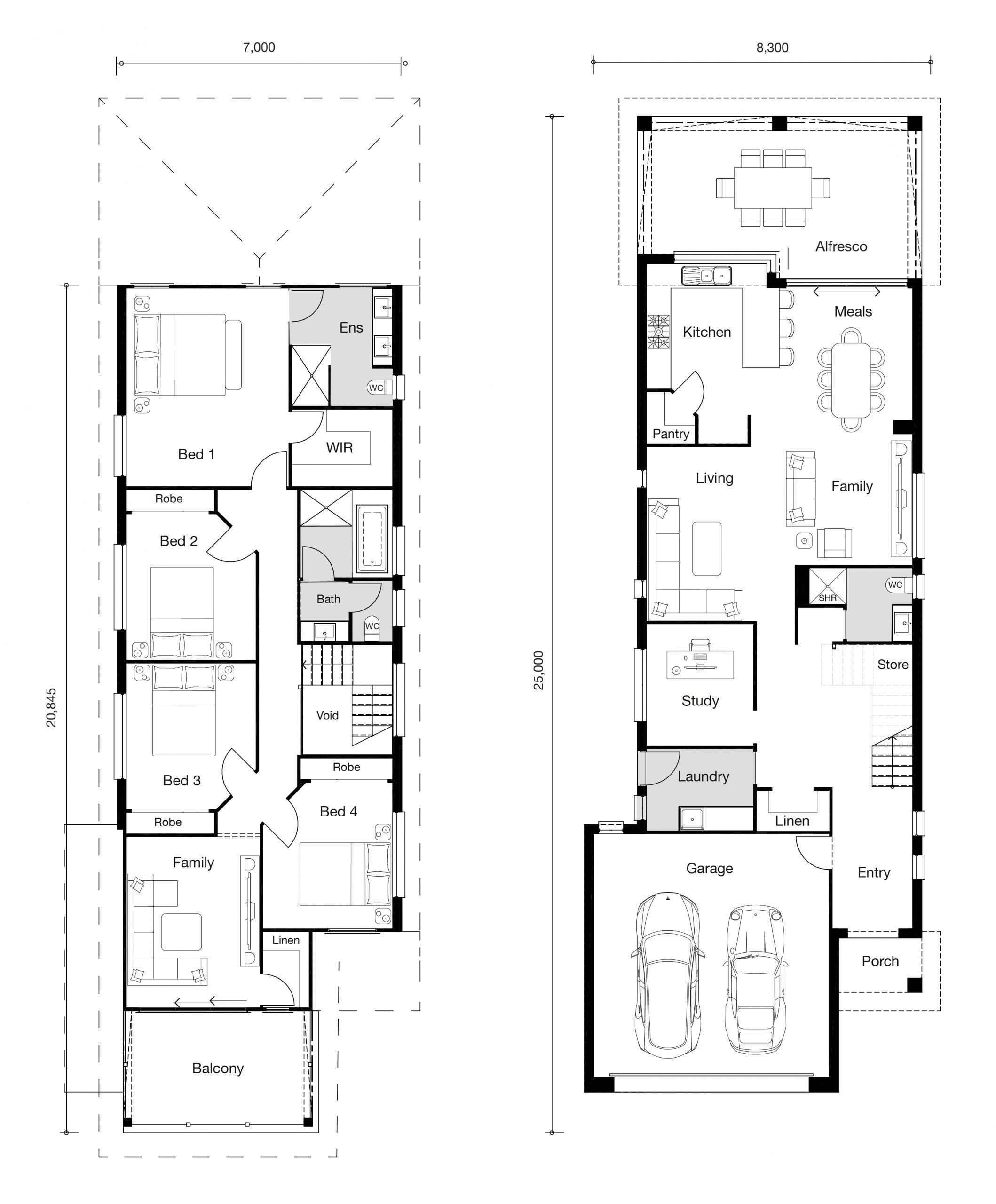 Floor plan for Nova 311 home