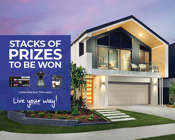 Marketing Image for Display Home Giveaway promotion